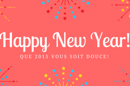 Dear 2015, here you are!