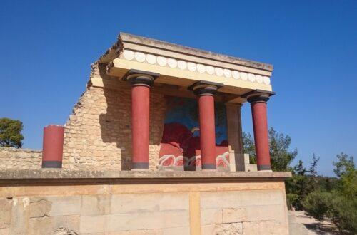 Le Palais de Cnossos, THE site touristique en Crète