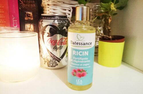 L'huile de ricin Natessance de Léa Nature, verdict?