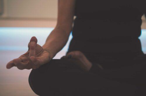 La méditation et moi.