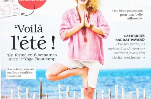 Zen attitude with Yoga Magazine