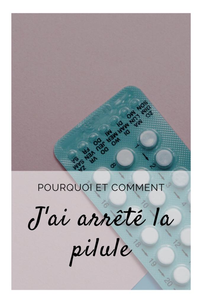 Arrêt pilule - Epingle Pinterest